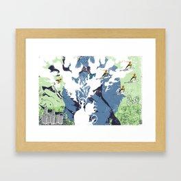 BackBlow Framed Art Print