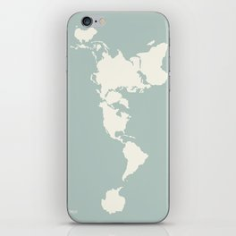 Dymaxion Map of the World iPhone Skin