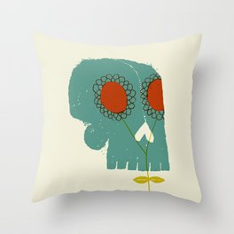Give Life Throw Pillow