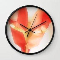 kitsune Wall Clocks featuring kitsune by eL Schiffer