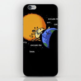 Excuse Me Total Solar Eclipse August 21 2017 iPhone Skin