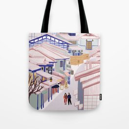 Old Town Kyoto Tote Bag