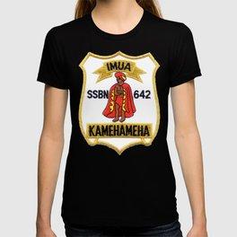 USS KAMEHAMEHA (SSBN-642) PATCH T-shirt
