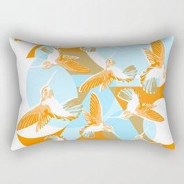 Humming Birds Rectangular Pillow