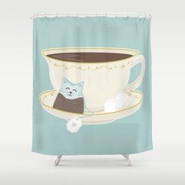 Kit-Tea Shower Curtain