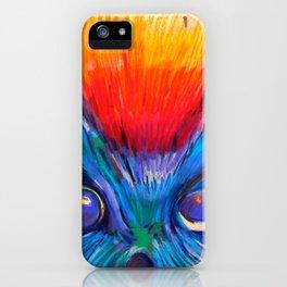 Crazy Owl  iPhone Case