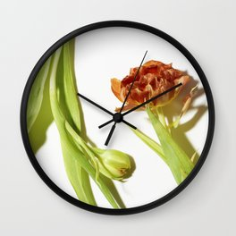 Bud & Bloom Wall Clock