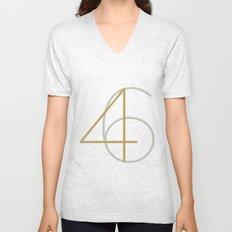 46 Unisex V-Neck