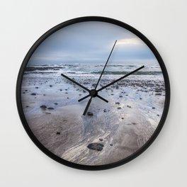 A Footprint of the Sea Wall Clock