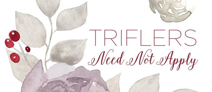 MFM: Triflers Need Not Apply Coffee Mug