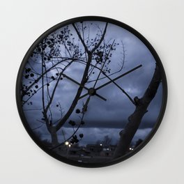 Between the Tree Wall Clock