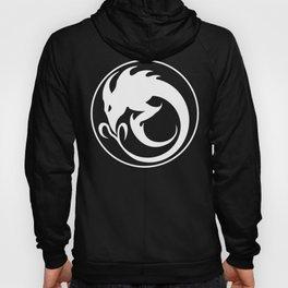 Sliver Ouroboros Symbol -White- Hoody