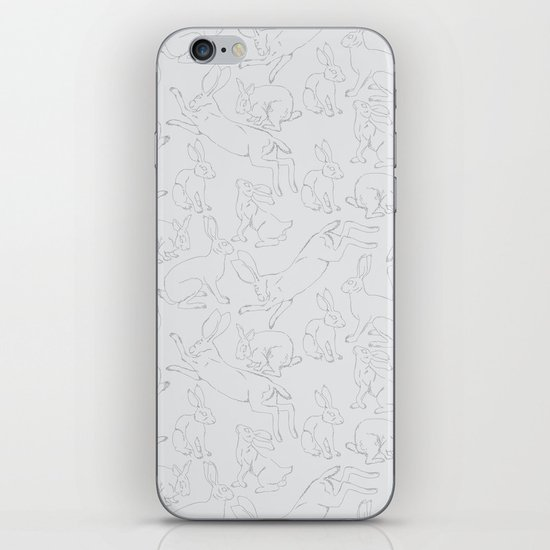 Hares iPhone & iPod Skin