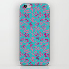 Squiggles Pattern iPhone Skin
