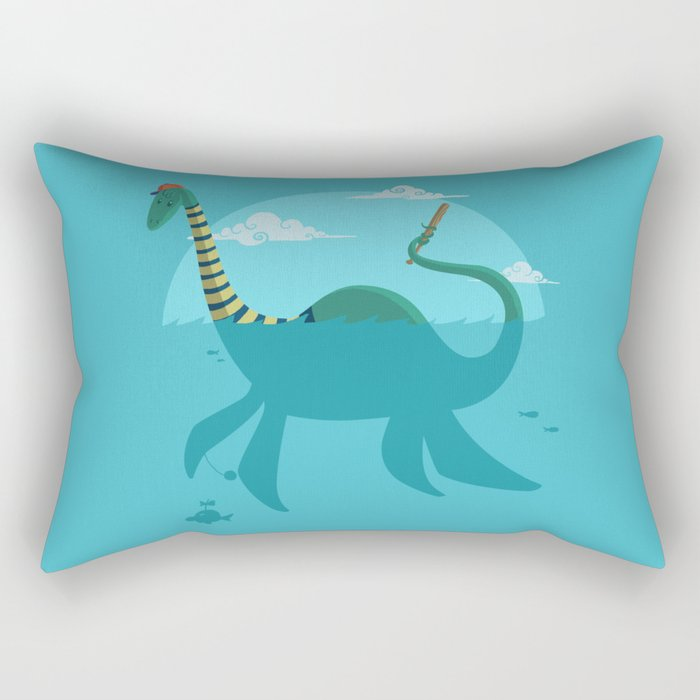 "Loch""Ness"" Monster Rectangular Pillow"