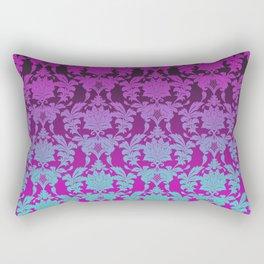 Ombre Damask Rectangular Pillow