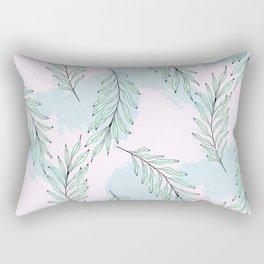 Tender leaves Rectangular Pillow