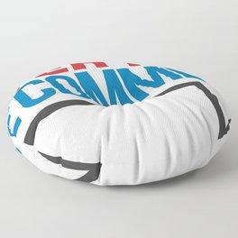 Internet PSA Floor Pillow