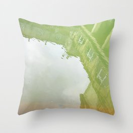 Curses: Absinthe Throw Pillow