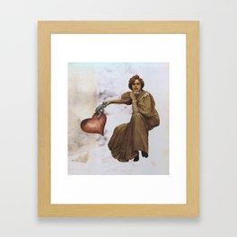 Untitled (2013) Digital Collage Framed Art Print
