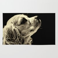 puppy Area & Throw Rugs featuring Puppy Love by Roger Wedegis