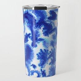 Blue culture Travel Mug