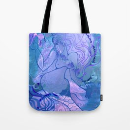 Mermaid's games Tote Bag