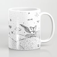 the little prince Mugs featuring Little Prince by nelasnow