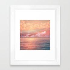Pastel vibes 55 Framed Art Print