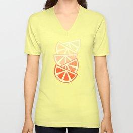 Orange Slices Unisex V-Neck