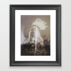 Native Life Framed Art Print