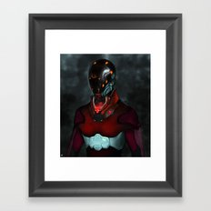Mighty Morphin' re-invented Framed Art Print