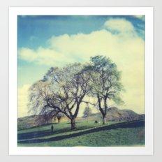 Calton Hill Art Print