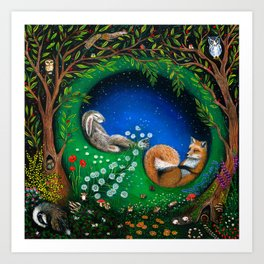 Midsummer Night's Dream Art Print