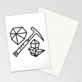 mineralogy Stationery Cards