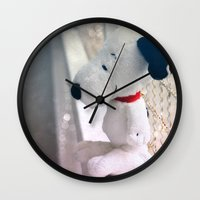 snoopy Wall Clocks featuring Snoopy by UliD
