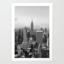 New York State of Mind II Art Print