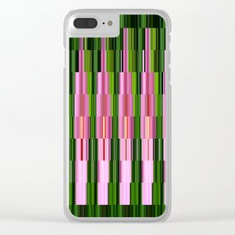 Kaleidoscope | Hawaiian Hibiscus Clear iPhone Case