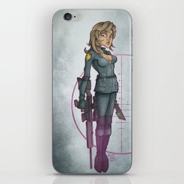 Sniper Wolf iPhone Skin