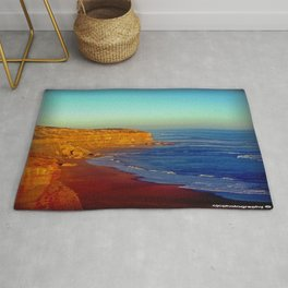 Sunsets on the limestone Cliffs Rug