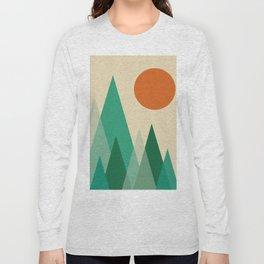 Minimalist Landscape X Long Sleeve T-shirt
