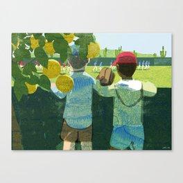 Spring Training Canvas Print