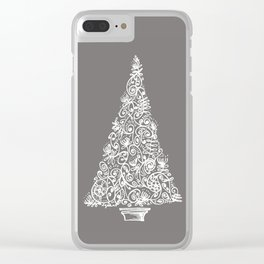 A Christmas tree in New Zealand Clear iPhone Case