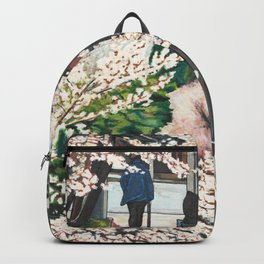 Passing by Cherry Blossoms Backpack