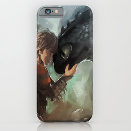 hiccup & toothless iPhone Case
