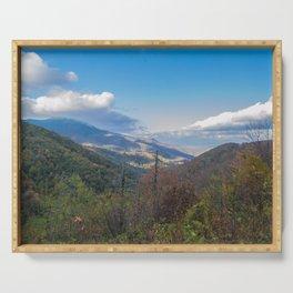 Blue Ridge Peaks Serving Tray