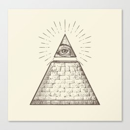 iLLuminati Canvas Print