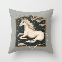 I Dwell in Possibility Throw Pillow