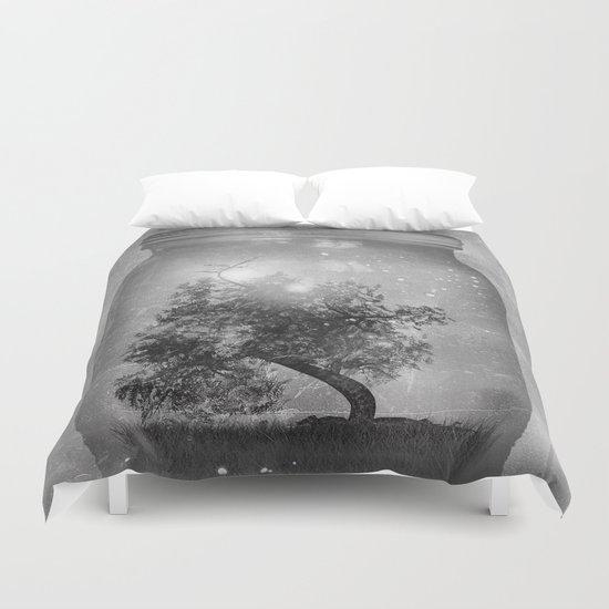 Black and White - Saving Nature Duvet Cover