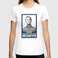prometheus T-shirts featuring Prometheus - David 8 - Employee of the month by Yiannis